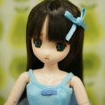 黒髪の困り眉子。(photo by ayame)