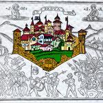 Completamento del disegno della città