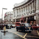 The Regent Street in London