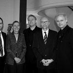 v.l.n.r.: Bgm. Markus Landauer, Botschafterin Jutta Stefan-Bastl, Eduard Kutrowatz, Roland Hagenberg, Johannes Kutrowatz