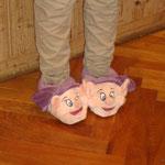 die neuen Fußwärmer