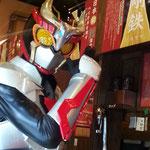 福岡のラーメン専門店一蘭でのテレビ取材