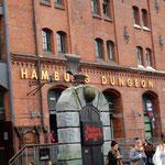 das Hamburg Dungeon in der Speicherstadt
