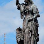 Flora McDonald, welche Bonnie Prince Charles nach Culloden zur Flucht verholfen hat
