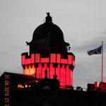 der Turm der Camera Obscura in der Royal Mile