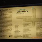 der Lageplan des Victorian Market