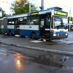 Der alte Mercedes Trolleybus