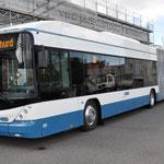 Der neue Trolleybus Hess Doppelgelenk-Trolleybus Longo 2