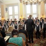 Musikalisch gestaltet wurde die Feierstunde vom Preisträger mit Werken von Mendelssohn-Bartholdy, Hoybe und Schöggl