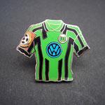 VFL Wolfsburg Trikot Pin 1998/1999 away mit Ligapatch