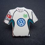 VFL Wolfsburg Trikot Pin 2002/2003 home mit Ligapatch