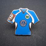 VFL Wolfsburg Trikot Pin 2000/2001 away mit Ligapatch