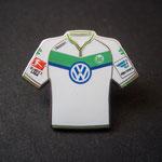 VFL Wolfsburg Trikot Pin home 2015/2016 mit Ligapatch und Hermes-Patch