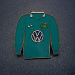 VFL Wolfsburg Trikot Pin 2008/2009 langarm
