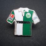 VFL Wolfsburg Trikot Pin home 2007/2008 Tiguan mit Ligapatch und T-Home-Patch
