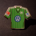 VFL Wolfsburg Trikot Pin home 2013/2014 mit Ligapatch und Hermes-Patch