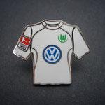 VFL Wolfsburg Trikot Pin 2006/2007 away mit Ligapatch