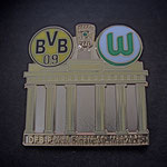 DFB-Pokal Finale 2015 Pin Brandenburger Tor golden