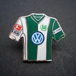 VFL Wolfsburg Trikot Pin 2006/2007 home mit Ligapatch und T-Com-Patch