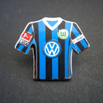VFL Wolfsburg Trikot Pin 2008/2009 away mit Ligapatch und T-Home-Patch
