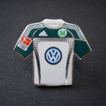 VFL Wolfsburg Trikot Pin home 2010/2011 mit Ligapatch