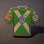 VFL Wolfsburg Trikot Pin home 2014/2015 mit Ligapatch und Hermes-Patch