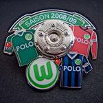 VFL Wolfsburg Trikots Pin 2008/2009 Polo mit Meisterschale