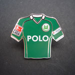 VFL Wolfsburg Trikot Pin 2008/2009 home Polo mit Ligapatch und T-Home-Patch