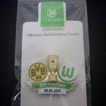 DFB-Pokal Finale 2015 Pin Karte Vorderseite
