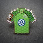 VFL Wolfsburg Trikot Pin home 1997/1998 mit Ligapatch