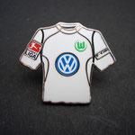 VFL Wolfsburg Trikot Pin 2006/2007 away mit Ligapatch und T-Com-Patch