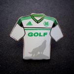 VFL Wolfsburg Trikotpin away Golf VII 2012/2013