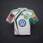 VFL Wolfsburg Trikot Pin home 2009/2010 mit Ligapatch und Stiftung-Patch