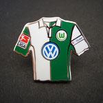 VFL Wolfsburg Trikot Pin home 2007/2008 mit Ligapatch und T-Home-Patch