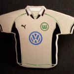 VFL Wolfsburg Trikot Pin 1999/2000 home groß Sterling Silver