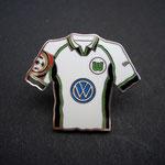 VFL Wolfsburg Trikot Pin 1999/2000 home mit Ligapatch