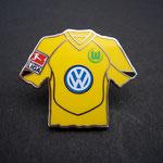 VFL Wolfsburg Trikot Pin 2004/2005 away mit Ligapatch