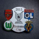 VFL Wolfsburg Emirates Cup 2015 Pin weiß