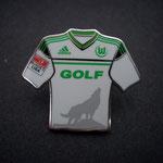VFL Wolfsburg Trikotpin away Golf VII 2012/2013 mit Ligapatch