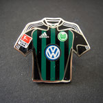 VFL Wolfsburg Trikot Pin away 2010/2011 mit Ligapatch