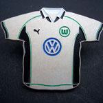 VFL Wolfsburg Trikot Pin 1999/2000 home groß
