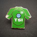 VFL Wolfsburg Trikot Pin 2005/2006 home TSI mit Ligapatch