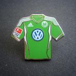 VFL Wolfsburg Trikot Pin home 2012/2013 mit Ligapatch