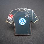 VFL Wolfsburg Trikot Pin 2003/2004 away mit Ligapatch