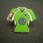 VFL Wolfsburg Trikot Pin 2001/2002 home mit Ligapatch