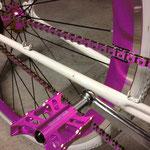 pink / violett