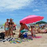 Praia da Ferrugem (Eva, Gisele und Thiago)