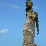 Nicht mehr ganz so fitte Meerjungfrau in Punta del Este