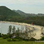 Auf der Wanderung entlang der Kueste - from Beach to Beach