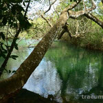 schoener Fluss am Camping do Gordo